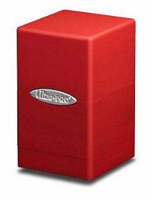 Ultra PRO - Deck-Box Satin Tower - Red/Rot - OVP