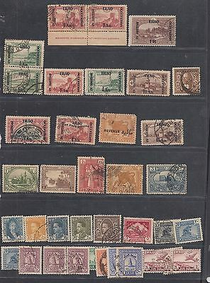 """£1.49 start - A small collection of """"IRAQ"""" issues, Used, Mint, OPTD & Official."""