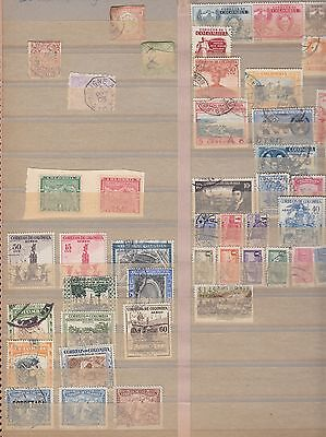 """£1.49 start - A small mixed collection of """"COLOMBIA"""" unsorted issues"""