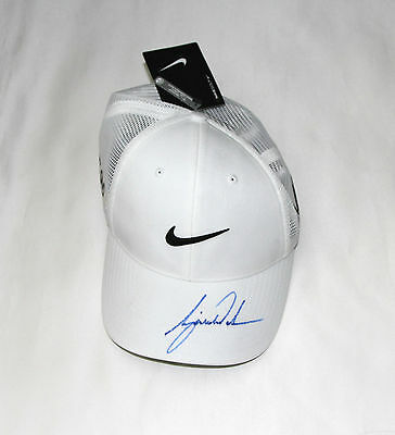 Tiger Woods Signed Nike Golf Cap with COA