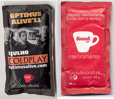 Buondi Sugar Package Portugal 2011 Coldplay Safety