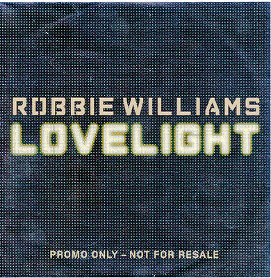 Robbie Williams ‎– Lovelight (CD Promo 2) UK 9 Track Promo CD Single Rare