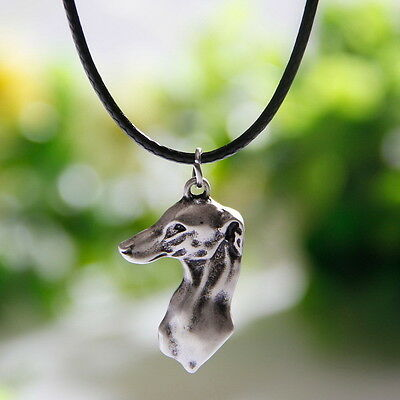 Sighthound Head Italian Greyhound Hund Inspired Pendant Necklace Line Art Whippe