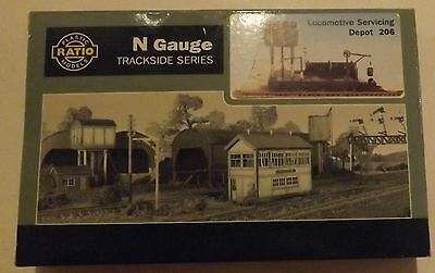 N Gauge Building Kits and Accessories
