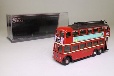Corgi OOC 43708; Q1 Trolleybus; London Transport: 602 Dittons; Excellent Boxed