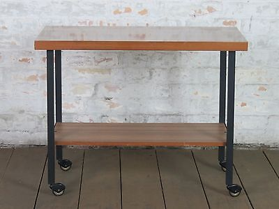 Mid Century 50s 60s Trolley Sofa Coffee Couch Table Tisch Retro Vintage