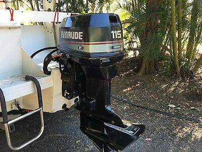 115hp Evinrude Outboard Motor