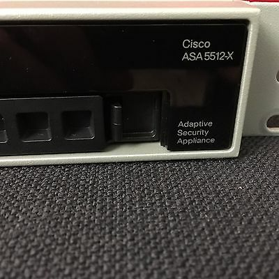 Cisco ASA 5512-X mit Security Plus Licence! Firewall Security Appliance