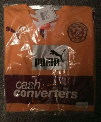 New with Tags Motherwell Football Shirt size XL