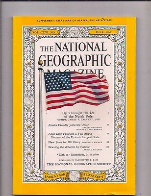 national geographic-JULY 1959-ALASKA PROUDLY JOINS THE UNION.