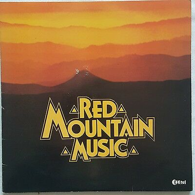 Red Mountain Music Double LP Compilation RED VINYL K-Tel 1981 Ex.Cond FREE POST