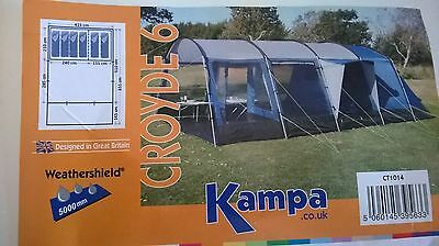 Kampa Croyde 6 Person Tunnel Tent