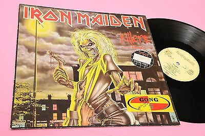 Iron Maiden Lp Killers Germany 1981