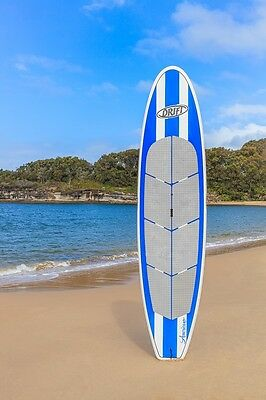 NEW Drift SUP stand up paddle board 'Caribbean Blue' 11ft + bag + leash + paddle