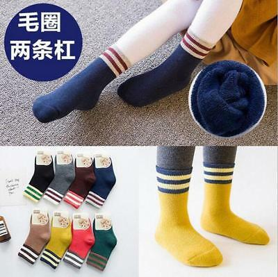1 Pair Kids Boys Socks Soft Cotton Durable Child Girls Socks Baby Clothing 1-12Y