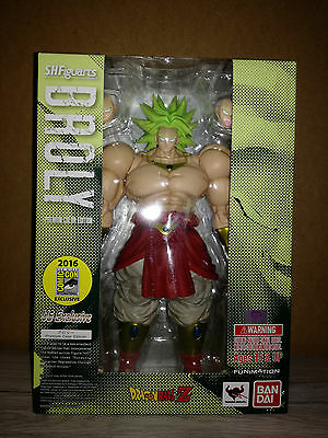 BROLY SDCC Bandai Dragon Ball Z S.H.Figuarts Bluefin Comic Con exclusive 2016