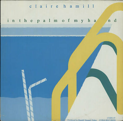 """Claire Hamill 12"""" vinyl single record (Maxi) In The Palm Of My Hand UK CODS2T"""