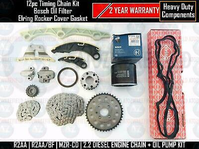 For Mazda 3 6 Cx7 2.2 Diesel Timing Oil Pump Chain Tensioner Sprockets Guide Kit
