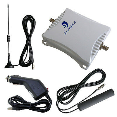 GSM Dual 900/1800MHz Cell phone Signal Booster Car Repeater Amplifier Extender