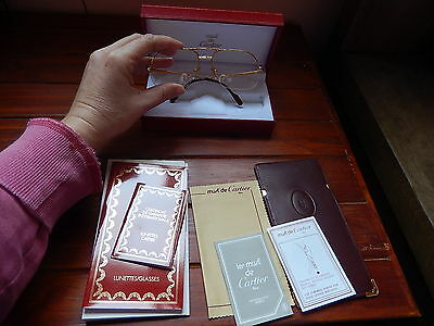 Vintage GENUINE Cartier eyeglasses BNWT