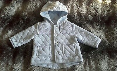 NEXT Boys cute blue star padded jacket coat 3-6 months