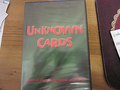 Unknown Cards DVD - Card Magic Trick Instruction by Magic Makers