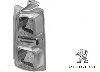 Genuine Peugeot Traveller Rear Lamp Assembly - RH - 9808243080