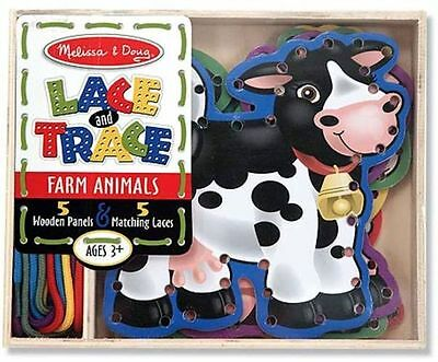 Lace And Trace Farm Animals - Melissa And Doug
