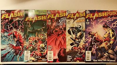 FLASHPOINT Saga Complete First Print DC Comics 2011 Series
