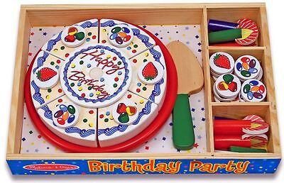 Wooden Cake Birthday Party - Melissa And Doug