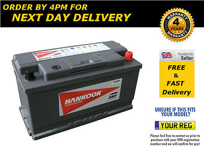Type 019 Hankook Battery 12V 100Ah Quick Delivery Just Order Before 16.00