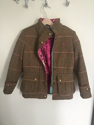 Girls Tweed Joules Jacket