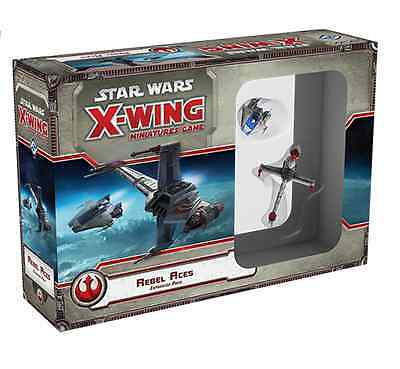 Star Wars Miniatures Game : X-Wing - Rebel Aces Expansion Pack , Fantasy Flight