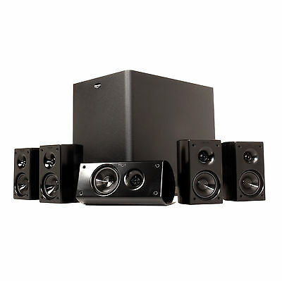 Klipsch HD Theater 300 (HDT300) Speaker System with Powered Subwoofer. New.