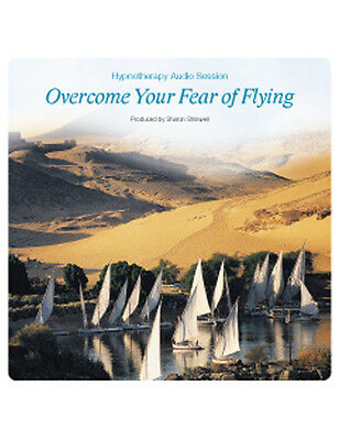 Self Hypnosis CD - OVERCOME YOUR FEAR OF FLYING by Sharon Shinwell