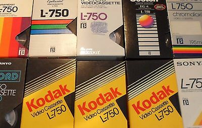 Betamax Tapes x 35 with 80s / 90s Recordings