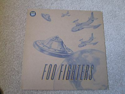 Foo Fighters  This Is A Call/Winnebago/Podunk  Promo White/Glowing Vinyl