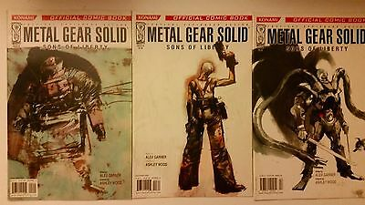 Metal Gear Solid Sons Of Liberty Comic Book