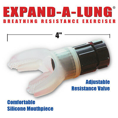Expand-A-Lung® -The #1 Lung Exerciser For Superior Endurance Fitness (Drug Free)