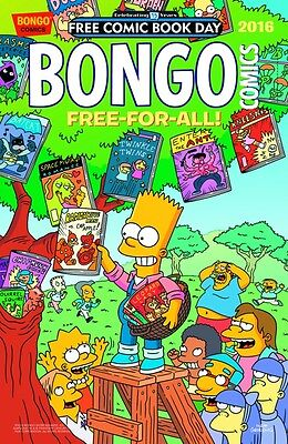 Bongo Free-For-All Free Comic Book Day VO