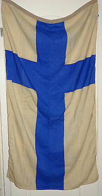 100% Original NEW Big Flag Banner SUOMI FINLAND 82x148cm Made in USSR OLD STOCK