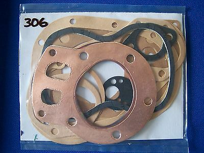 306 BSA C11G 1954-56 C12 1956-58 250cc ENGINE GASKET SET
