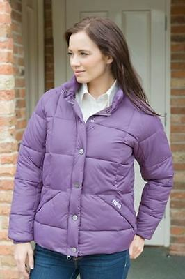 Ladies Puffa Original Plum Purple Allington Jacket Coat