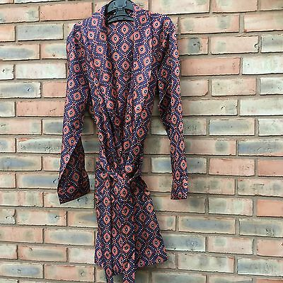 Vintage St Michael size S/M Polyester silky feel dressing gown