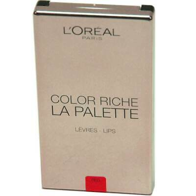 L'Oréal Paris Lippen Make-up Color Riche La Palette Lip red 6x1g