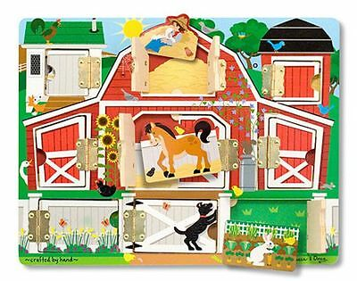 Wooden Educational Board Open And Close - Melissa And Doug