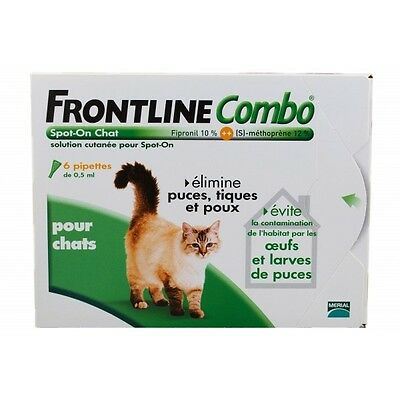 Frontline combo chat 6 pipettes !!