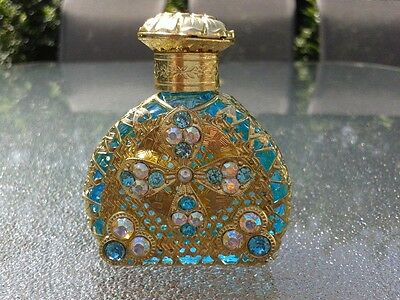 NEW Hand-made Bohemia Glass Perfume bottle from Europe Gift for Woman