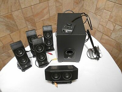 Logitech X-540 5.1 Speaker System with Sub-woofer and Controller
