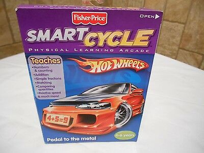 Fisher Price Smart Cycle Game (Hot Wheels)
